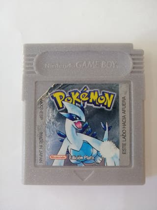 Pokemon edición plata para nintengo Game Boy