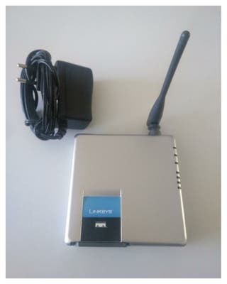 ROUTER LINKSYS COMPACT WRT54GC 2.0