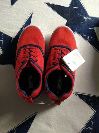 zapatillas lona niño talla 34