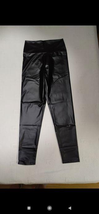 pantalones mallas chica