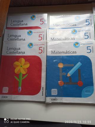 libros 5° de primario