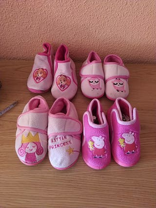 Liquidación zapatillas invierno rosas niña/o