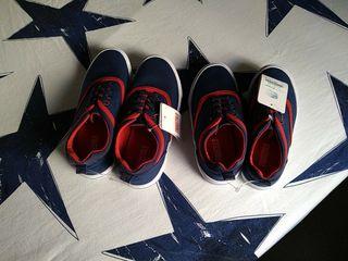 zapatillas lona niño talla 35 y 31