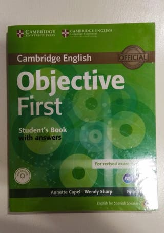 OBJECTIVE FIRST de Cambridge