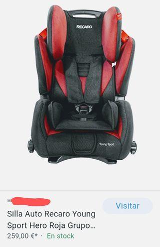 silla coche Recaro Young sport