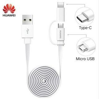 HUAWEI honor original dos en uno cable 1.5m