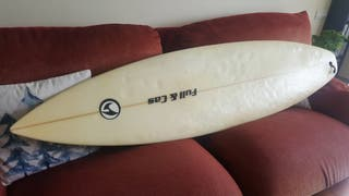 Tabla surf Full&Cas 6'3, con funda