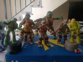 lote tortugas ninja
