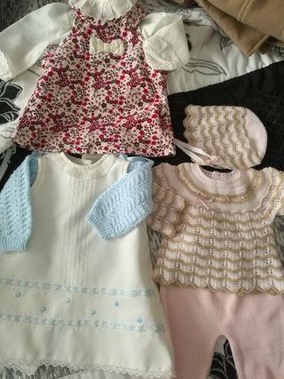 lote ropa reborn bebe talla 0