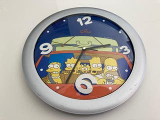 Reloj de pared Simpsons