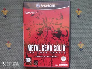 Metal Gear Solid Twin Snakes Gamecube