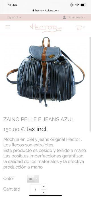 Mochila nueva hector