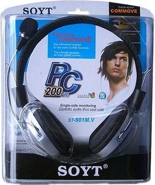 Auriculares con micrófono para pc.... ( nuevo)