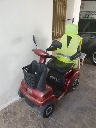 Silla scooter minusválido electrica