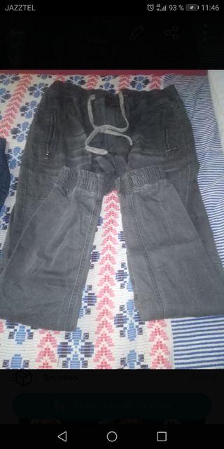 camiseta corta ying y yang más un pantalón pitillo