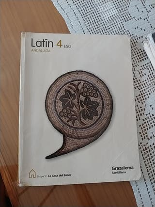 4° ESO LATIN GRAZALEMA SANTILLANA