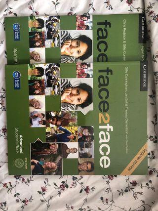 Libro ingles Face2Face Cambridge C1