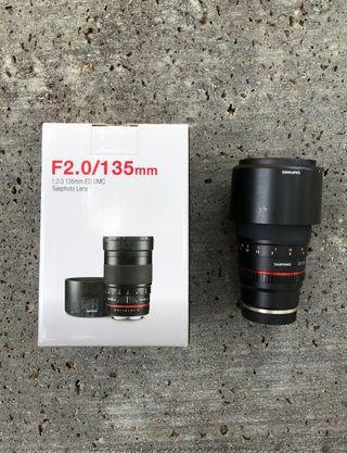Samyang 135mm f2 (sony)