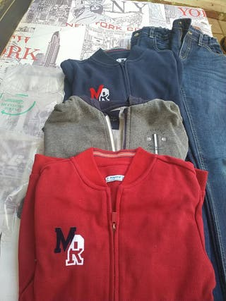 Lote ropa niño Mayoral.Chaquetas y pantalones