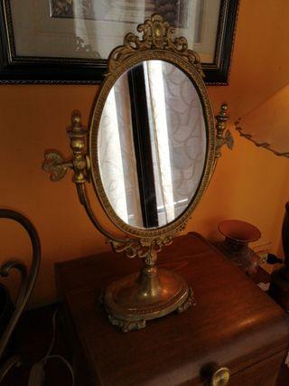 espejo bronce