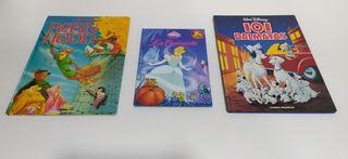 Tres libros infantiles.