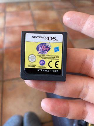 Juego little pet shop + FUNDA Nintendo XL
