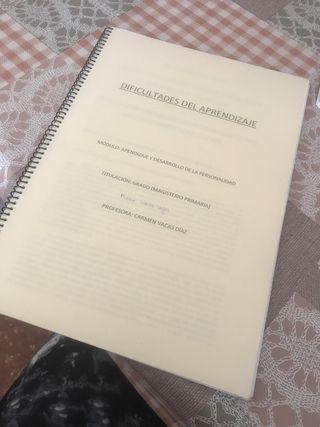 Libro dificultades del aprendizaje UGR