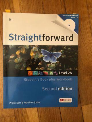B1 straightforward student's book plus workbook