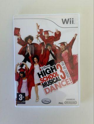 Juego High School Musical 3 dance Wii