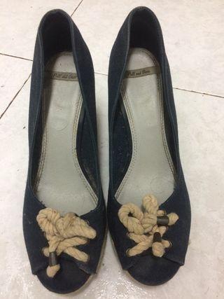 Sandalias de cuña
