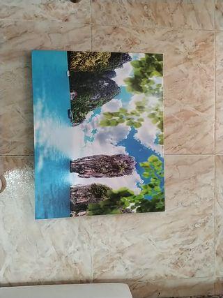 cuadro lienzo paisaje