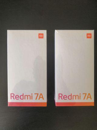 2 Moviles Redmi 7A