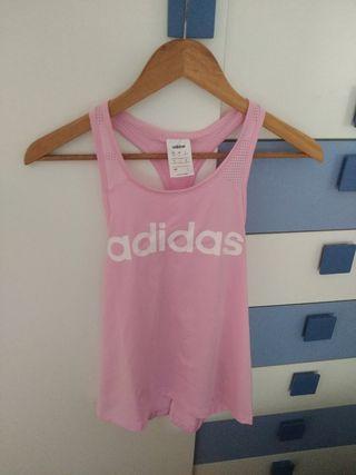 Camiseta Adidas chica.Talla S.5€.