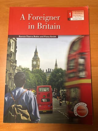 "Libro ""A Foreigner in Britain"""