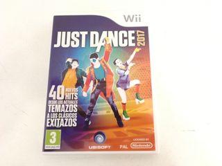Videojuego de Wii Just Dance 2017