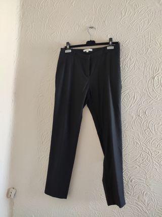 Pantalón Negro Pinzas (L)