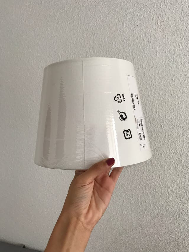 Pantalla para luz IKEA (nueva para estrenar)