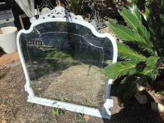 Espejo Antiguo Isabelino Restaurado