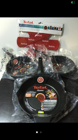 Tefal Set x 3 Frying Pans Aroma 22,24,26 cm