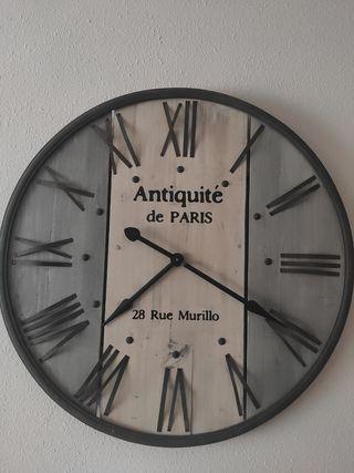 reloj pared grande vintage