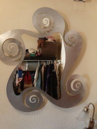 espejo forja Hispalense Plata