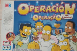 juego Simpson Operación