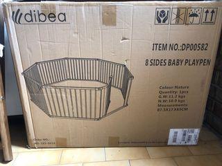 Parque para bebé 8 piezas