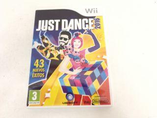 Videojuego De Wii Just Dance 2016