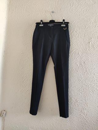 Pantalón Pinzas Negro (talla 36)