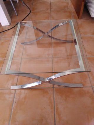 Mesa de cristal medidas 60×60