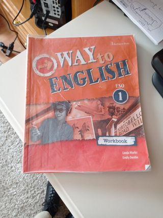 Libro inglés Workbook 1° ESO Way to English 1