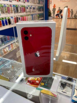 iPhone 11 128gb PRECINTADO ROJO
