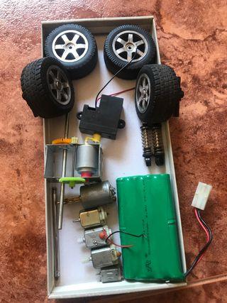 Piezas coche radio control