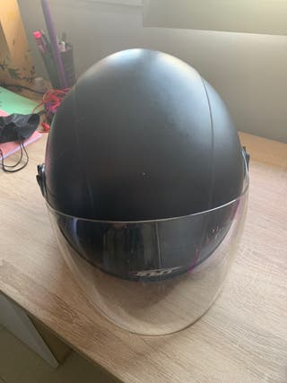 Casco semi-integral moto